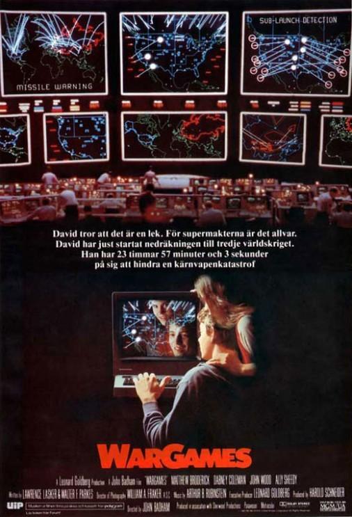 Juegos de Guerra, película de anticipación estrenada en 1983, convertida en un clásico del género, y pionera en mostrar el mundo hacker.