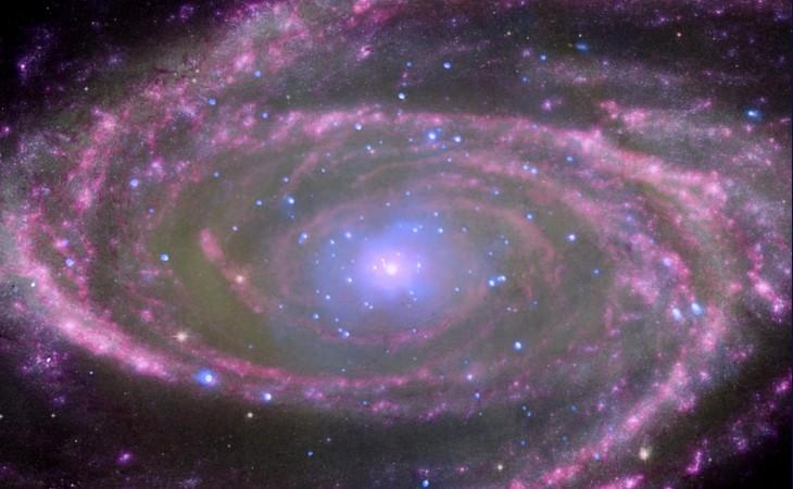 En el centro de la galaxia espiral M81 hay un agujero negro supermasivo aproximadamente 70 millones de veces más masivo que nuestro sol