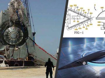 Marina de EE.UU. patentó un avión con tecnología «OVNI» que es operable y funcional