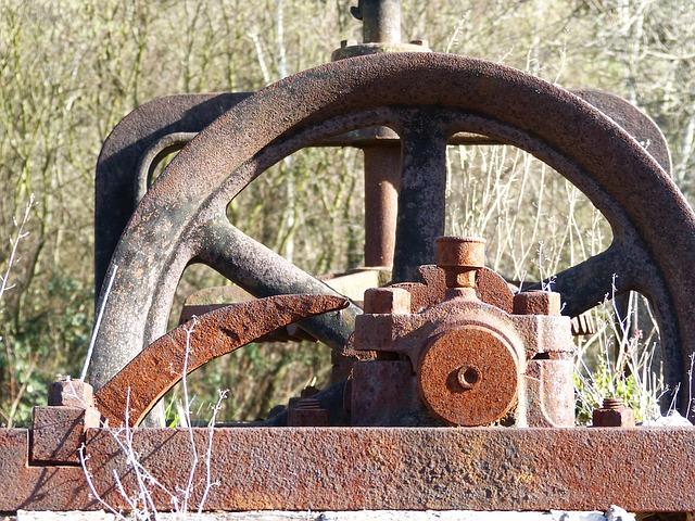 Mecanismo oxidado para extracción de agua subterránea