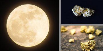 Metales preciosos podrían encontrarse bajo la superficie de la Luna