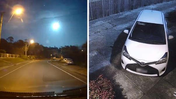 El meteoro cruzó cielo australiano pasadas las 8:30 de la noche del último viernes