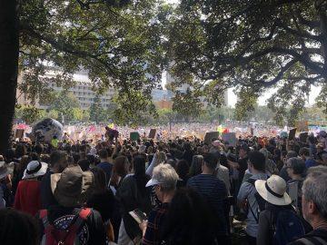 Millones se unen a la mayor protesta climática de la historia