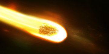 Misterioso objeto brillante cae del cielo en Reino Unido y desata el temor en los habitantes