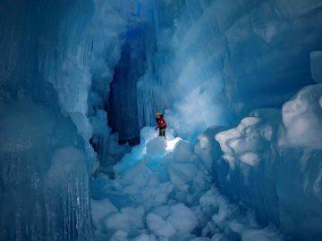 Mundo subterráneo bajo la Antártida con lagos, ríos y aves es hallado por investigadores