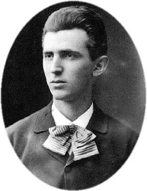 Imagen temprana de Nikola Tesla