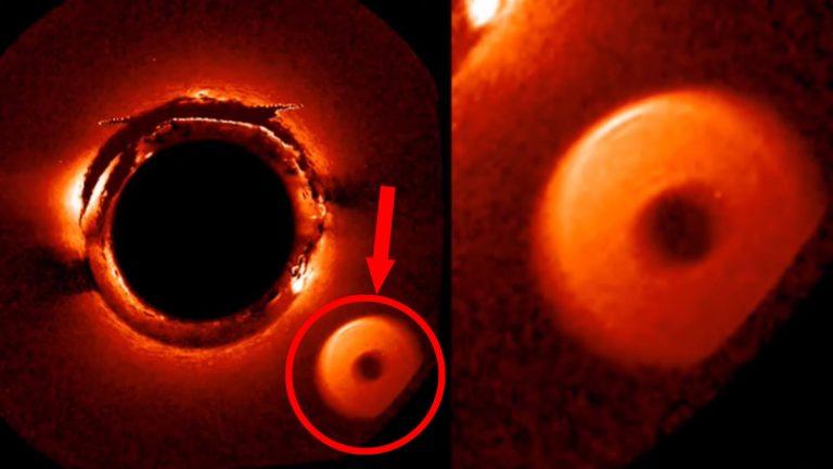 Objeto circular desconocido y gigantesco pasa cerca del Sol