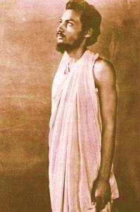 Temprana fotografía del joven Osho, en los tiempos que atravesara su conversión espiritual