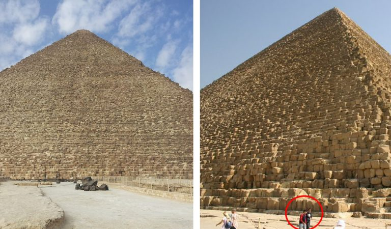 Pirámide de Giza: colosal maravilla de 6 millones de toneladas y 2.3 millones de bloques