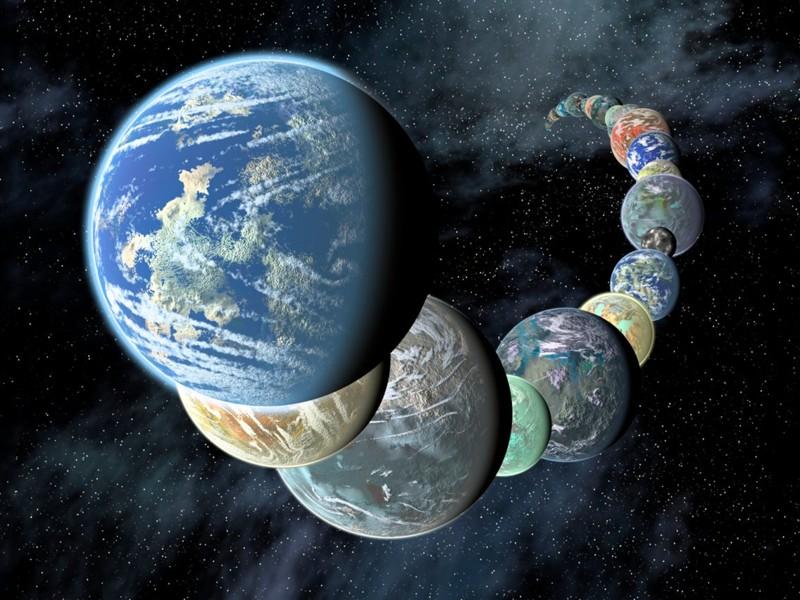 Los planetas similares a la Tierra tienen diferentes tamaños y composiciones