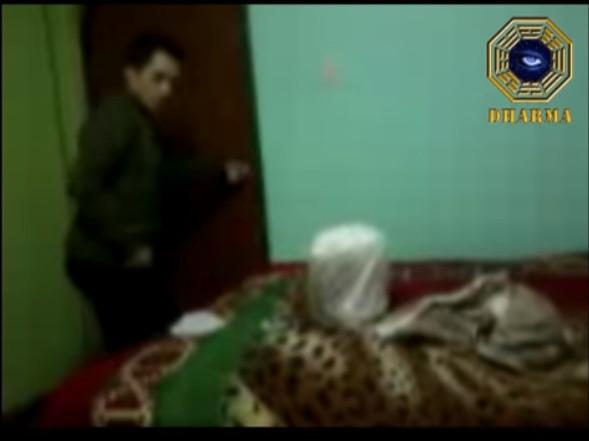 Fotograma del vídeo grabado por el testigo