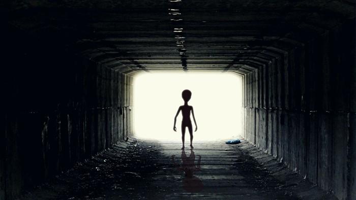 La imagen más iconográfica de un extraterrestre sería la del típico gris