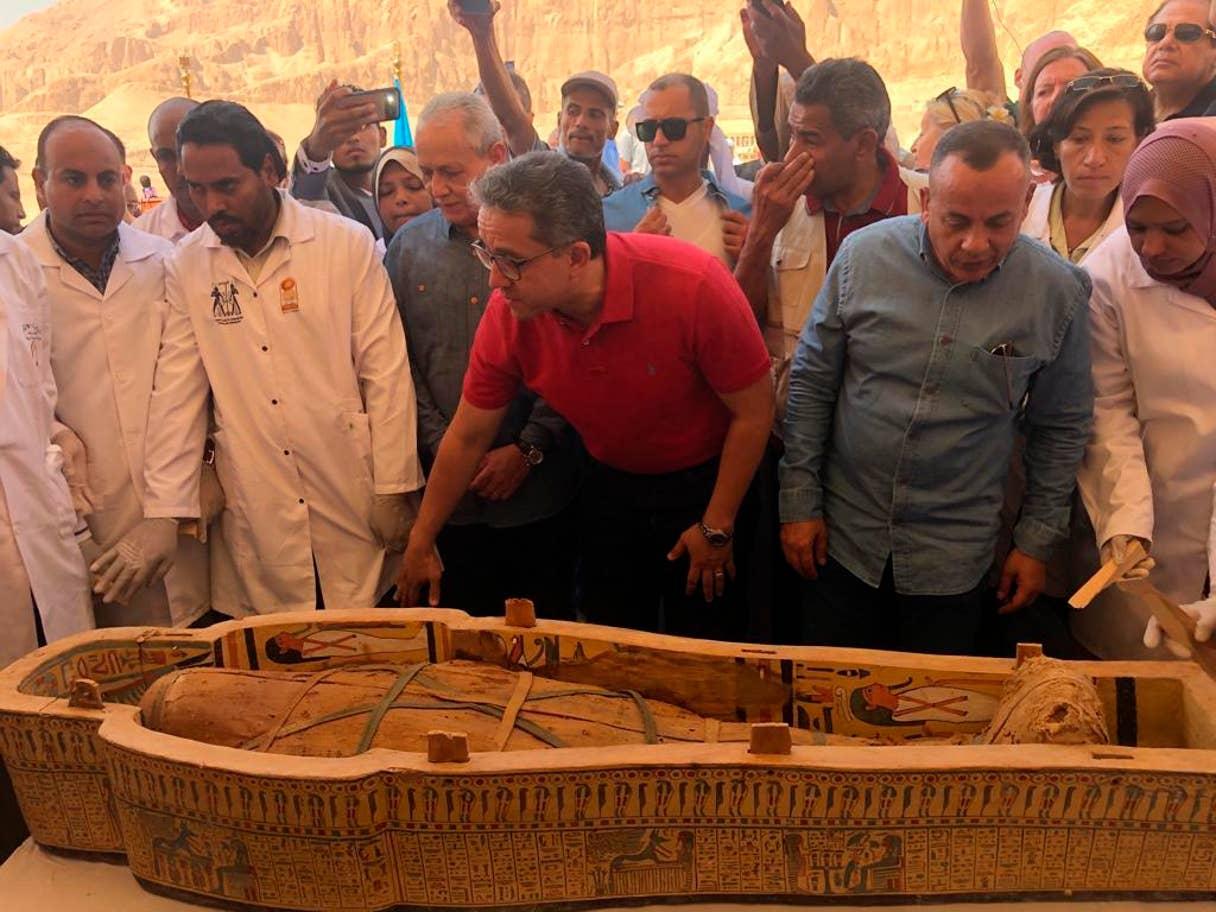 Las autoridades egipcias los describieron como uno de los descubrimientos «más grandes e importantes» de los últimos años