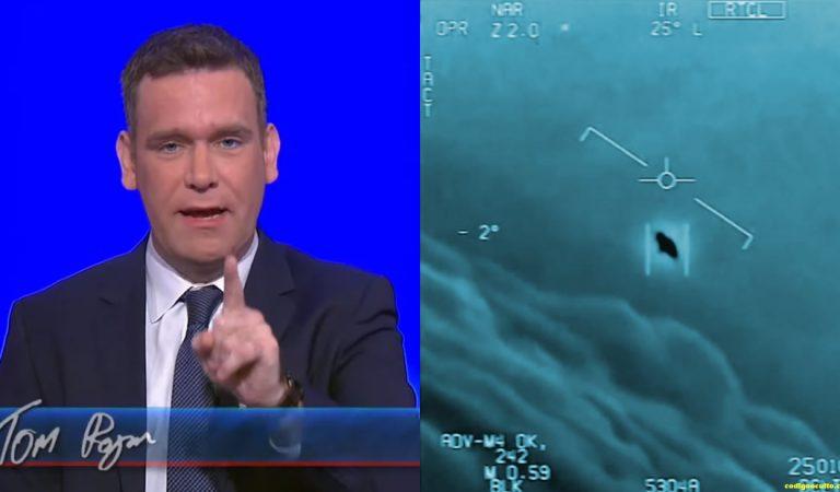 Afamado periodista político afirma que los OVNIs (UAP) no son de la Tierra