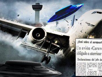 Avión tuvo que aterrizar de emergencia al encontrarse con un OVNI: el caso Manises