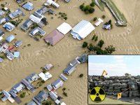 Casi 3.000 bolsas con desechos radioactivos de Fukushima son lanzadas por el tifón Hagibis