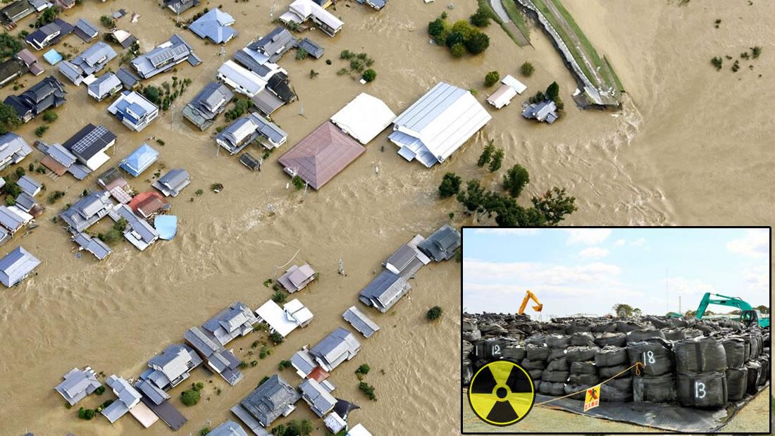 Casi 3.000 bolsas con desechos radioactivos de Fukushima fueron lanzadas por el tifón Hagibis