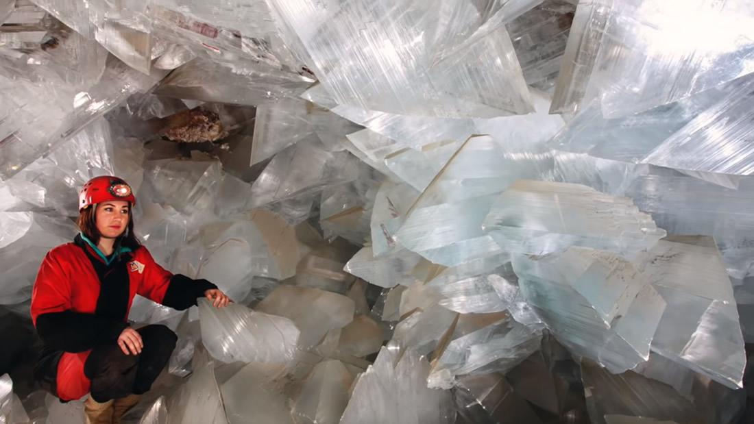Científicos revelan el origen de esta espectacular cueva de cristal