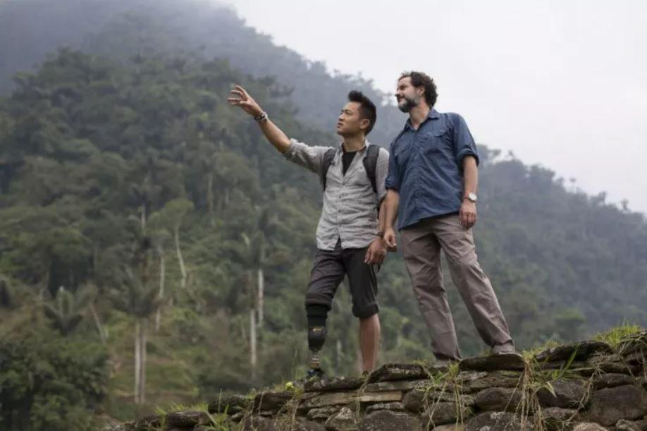 Albert Lin y Santiago Giraldo buscando la ciudad perdida