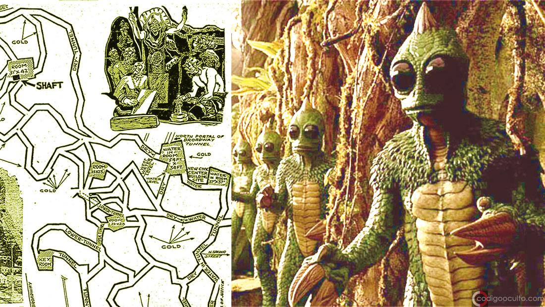 Ciudad Reptil de Los Ángeles: Conspiranoia al rojo vivo