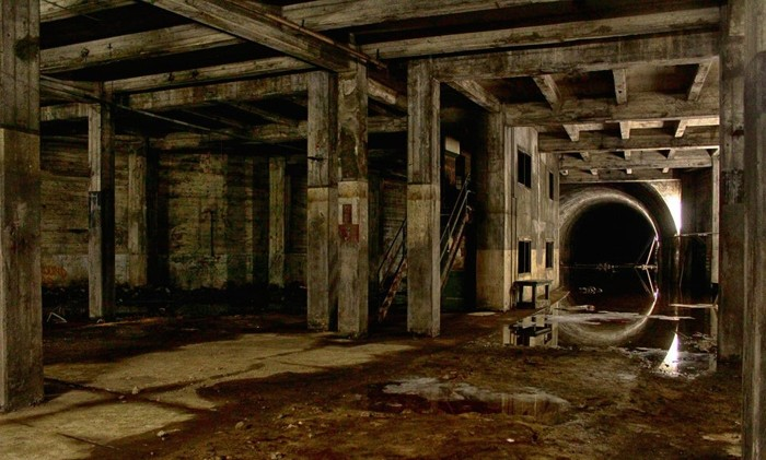 Uno de los misteriosos túneles abandonados, de la ciudad de Los Ángeles