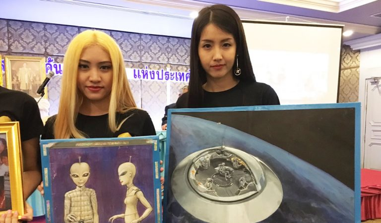 Culto en Tailandia afirman comunicarse con alienígenas a través de un portal