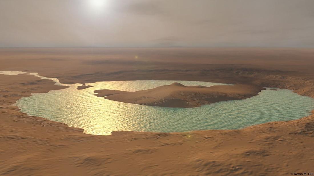 Curiosity ha encontrado un antiguo oasis en Marte