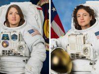 Dos mujeres astronautas hacen historia al realizar una caminata espacial