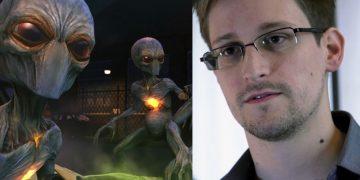 Edward Snowden dice que los alienígenas son reales pero que EE.UU. no los encubre