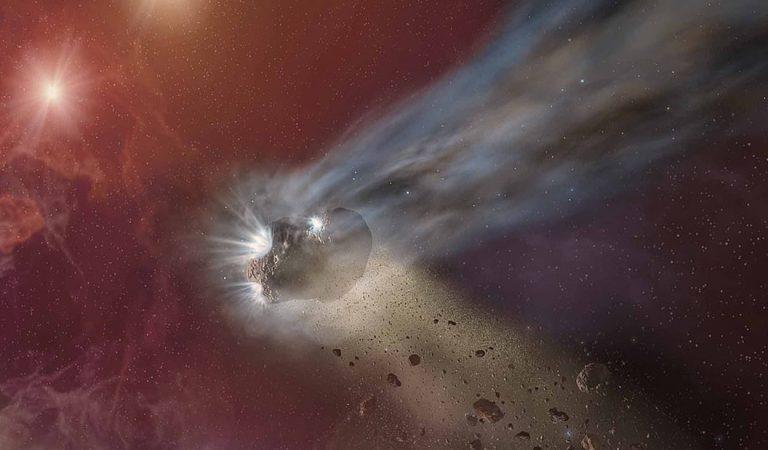 El cometa interestelar que visita el sistema solar es diferente a todo lo visto antes