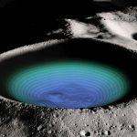El hielo en el polo sur de la Luna puede tener más de una fuente, indica estudio