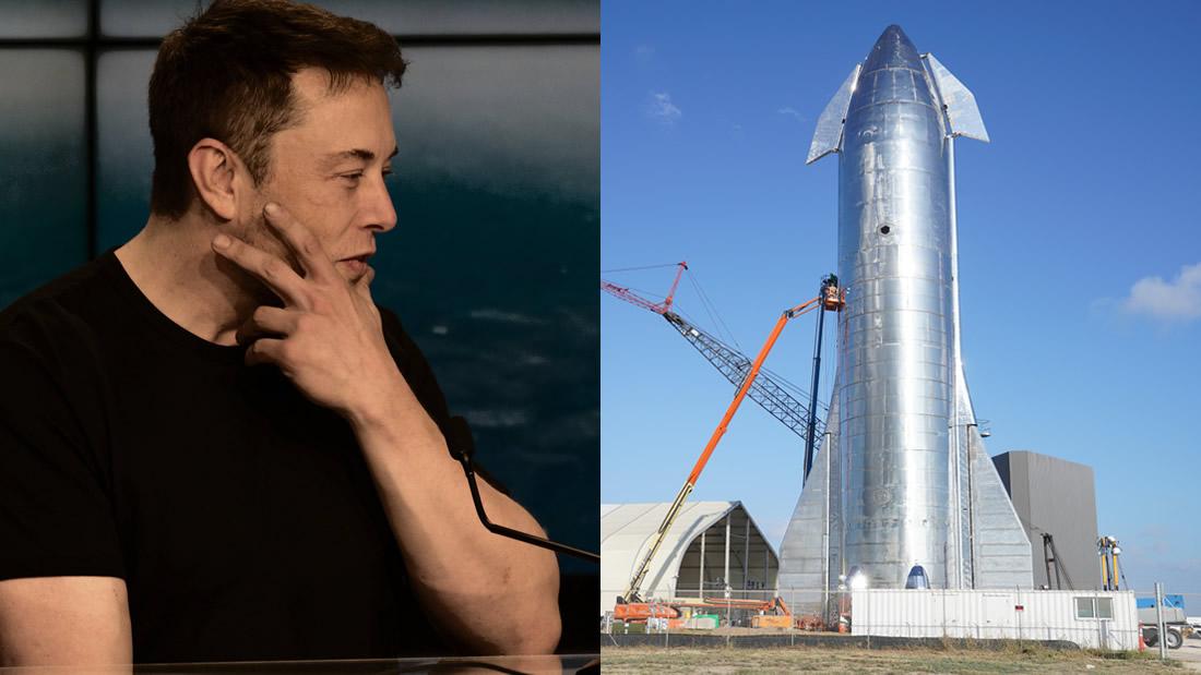 Elon Musk presenta nave espacial que llevará tripulaciones a Marte de ida y vuelta
