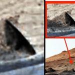 ¿Es esto una Pirámide encontrada en Marte y no reportada por la NASA?