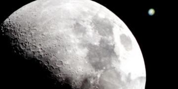 Este jueves 3 de octubre: conjunción de Luna y Júpiter (no, no caerá el asteroide)