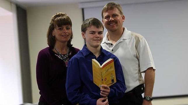 Colton Burpo junto a sus padres, Sonja y Todd