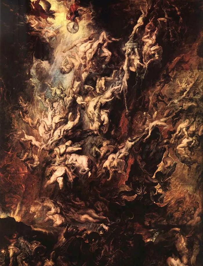 «Descenso Al Infierno De Los Condenados», Peter Paul Rubens