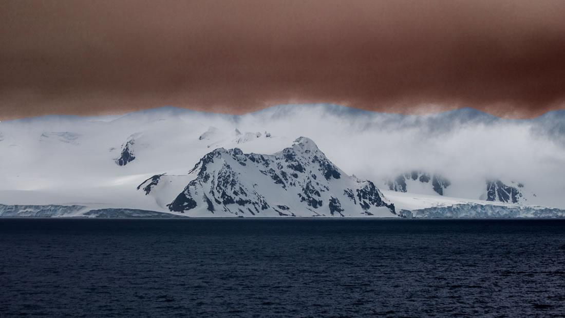 Extraño fenómeno calienta el aire de la Antártida rompiendo todos los récords de temperaturas