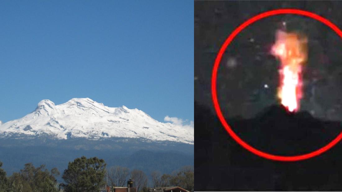 ¿Ha explotado el volcán Iztaccíhuatl? Alarma y «confusión» en México