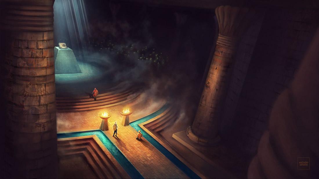 Hallan el «mapa» más antiguo del inframundo en un sarcófago egipcio