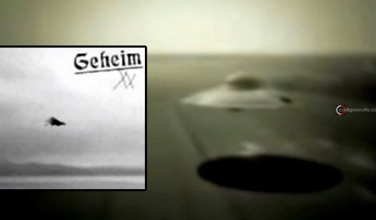 Impresionante vídeo antiguo restaurado muestra discos voladores alemanes