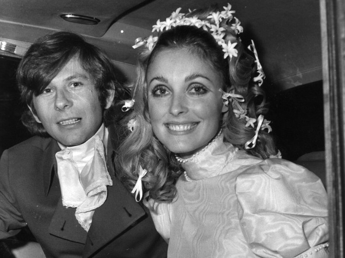 Roman Polanski y su esposa Sharon Tate, cruelmente asesinada por la secta de Charles Manson
