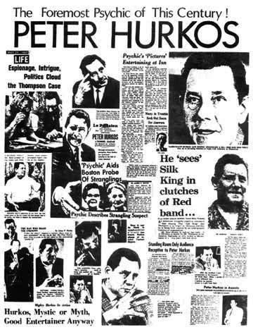Peter Hurkos captó la atención de la prensa internacional