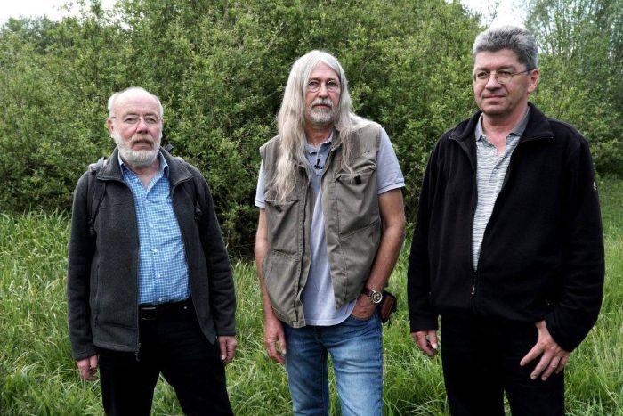 El Dr. Martin Sorg y sus colegas de la Krefeld Entomological Society