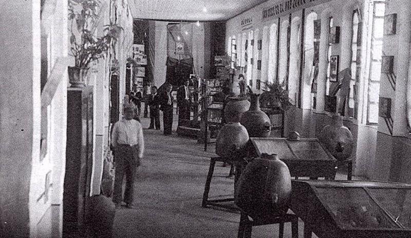 Una vieja imagen del Museo Crespi, cuando aún funcionaba