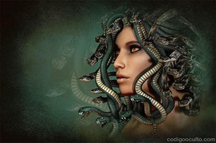 Medusa Gorgona, el híbrido: un mito cercano a la realidad