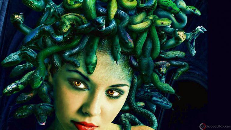 Medusa Gorgona, el híbrido humano reptil: un mito cercano a la realidad