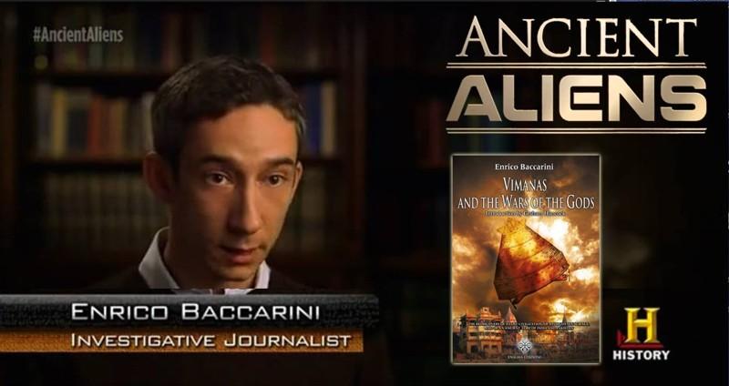 Enrico Baccarini, investigador italiano, quién actualmente sigue los pasos de David Davenport, en sus estudios sobre Mohenjo Daro y Harappa