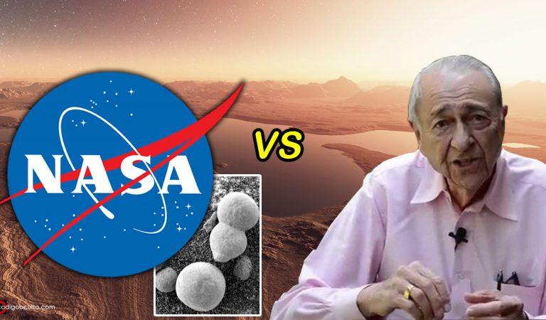 NASA niega que se haya encontrado vida en Marte en 1970