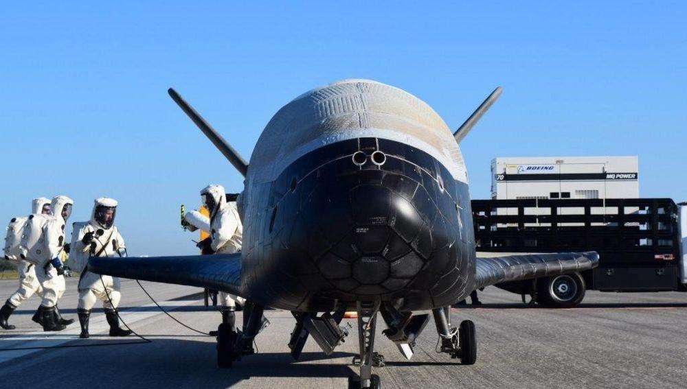 La misteriosa nave X-37B de EE.UU. pasó nueve meses en el espacio en una misión desconocida