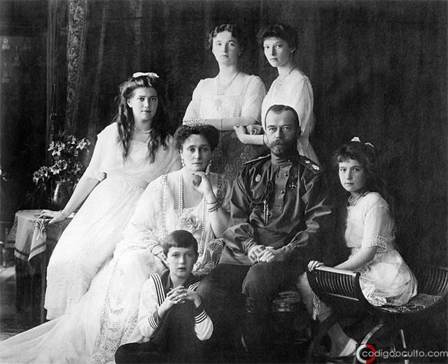 Familia de Nicolás II de Rusia